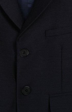 Детский пиджак FENDI темно-синего цвета, арт. BMA103/ABYM/12M-24M | Фото 3