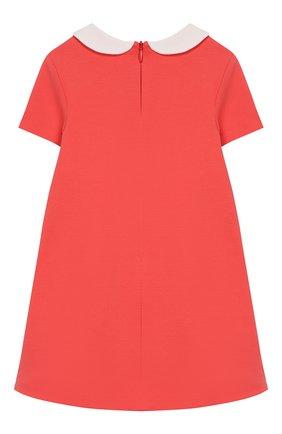 Женский платье FENDI кораллового цвета, арт. BFB291/A6IK/12M-24M | Фото 2