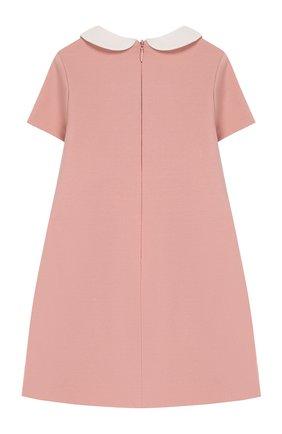 Женский платье FENDI розового цвета, арт. BFB291/A6IK/12M-24M | Фото 2