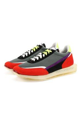 Мужские комбинированные кроссовки RBRSL разноцветного цвета, арт. 7X2256U.V78TX3TC69 | Фото 1