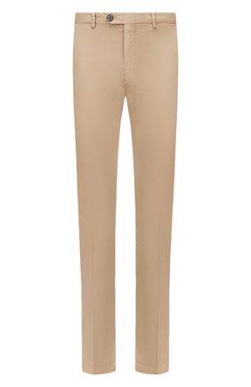 Мужские хлопковые брюки RALPH LAUREN бежевого цвета, арт. 790802188   Фото 1 (Материал внешний: Хлопок; Длина (брюки, джинсы): Стандартные; Случай: Повседневный; Стили: Кэжуэл)