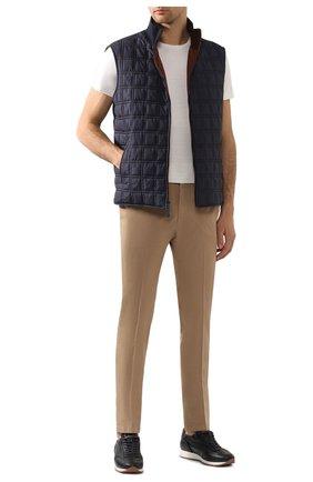 Мужские хлопковые брюки RALPH LAUREN бежевого цвета, арт. 790802188   Фото 2 (Материал внешний: Хлопок; Длина (брюки, джинсы): Стандартные; Случай: Повседневный; Стили: Кэжуэл)