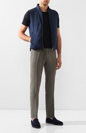 Льняные брюки   Фото №2