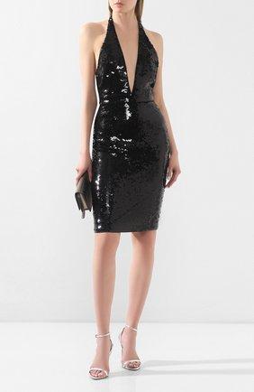 Женское платье с пайетками TOM FORD черного цвета, арт. ABJ409-SDE237 | Фото 2
