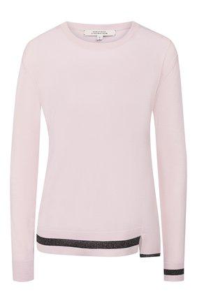 Женская шерстяной пуловер DOROTHEE SCHUMACHER розового цвета, арт. 710101/T0UCH 0F SHINE | Фото 1
