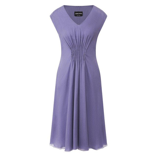Шелковое платье Giorgio Armani