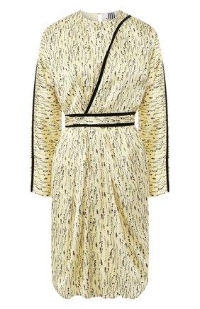 Женское платье JM STUDIO желтого цвета, арт. JMSS2032 | Фото 1