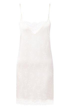Женская шелковая сорочка LISE CHARMEL белого цвета, арт. ALG1032 | Фото 1