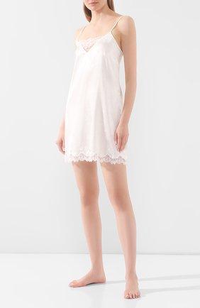 Женская шелковая сорочка LISE CHARMEL белого цвета, арт. ALG1032 | Фото 2