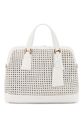 Женская сумка GIORGIO ARMANI белого цвета, арт. Y1A178/YTE5D | Фото 1