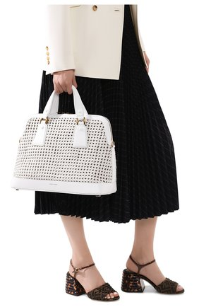 Женская сумка GIORGIO ARMANI белого цвета, арт. Y1A178/YTE5D | Фото 2