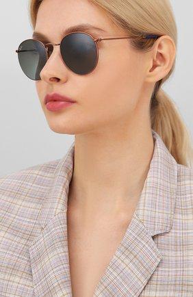 Женские солнцезащитные очки RAY-BAN темно-синего цвета, арт. 3447-900396 | Фото 2