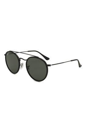 Женские солнцезащитные очки RAY-BAN черного цвета, арт. 3647N-002/58 | Фото 1