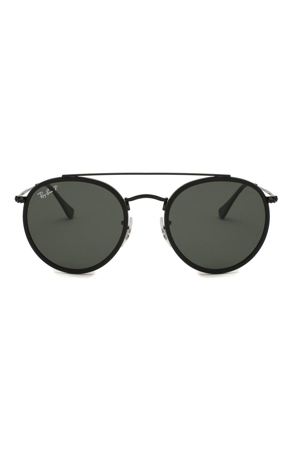 Женские солнцезащитные очки RAY-BAN черного цвета, арт. 3647N-002/58 | Фото 4