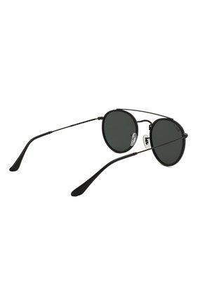 Женские солнцезащитные очки RAY-BAN черного цвета, арт. 3647N-002/58 | Фото 5