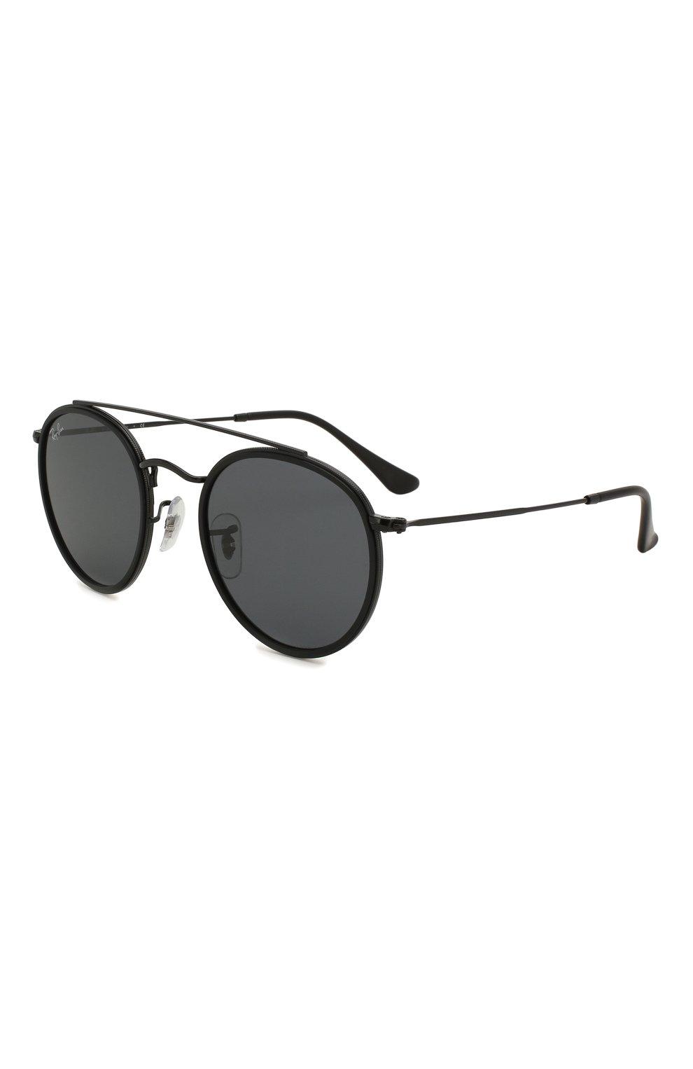 Женские солнцезащитные очки RAY-BAN черного цвета, арт. 3647N-002/R5 | Фото 1