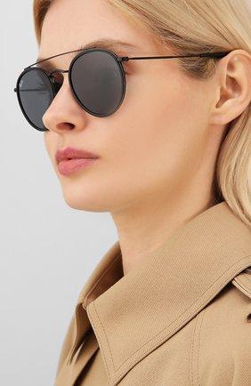Женские солнцезащитные очки RAY-BAN черного цвета, арт. 3647N-002/R5 | Фото 2