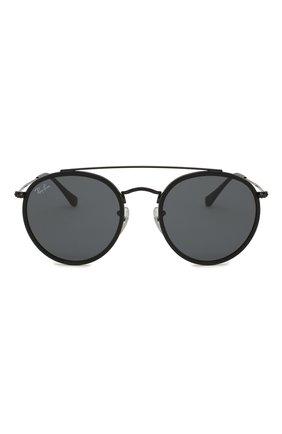 Женские солнцезащитные очки RAY-BAN черного цвета, арт. 3647N-002/R5 | Фото 4