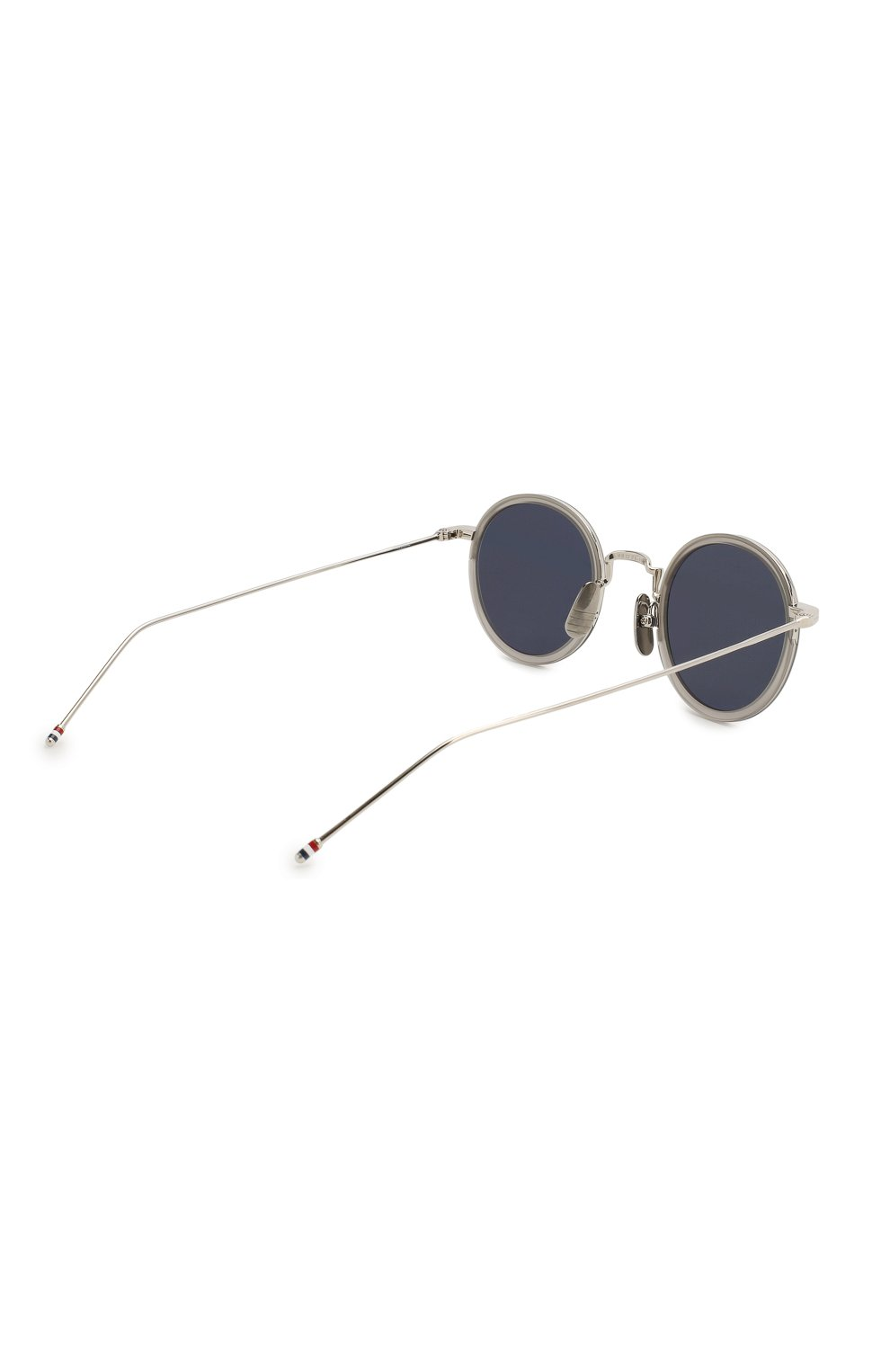 Женские солнцезащитные очки THOM BROWNE серого цвета, арт. TB-906 SUN-03 | Фото 5