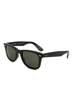Женские солнцезащитные очки RAY-BAN черного цвета, арт. 4340-601 | Фото 1