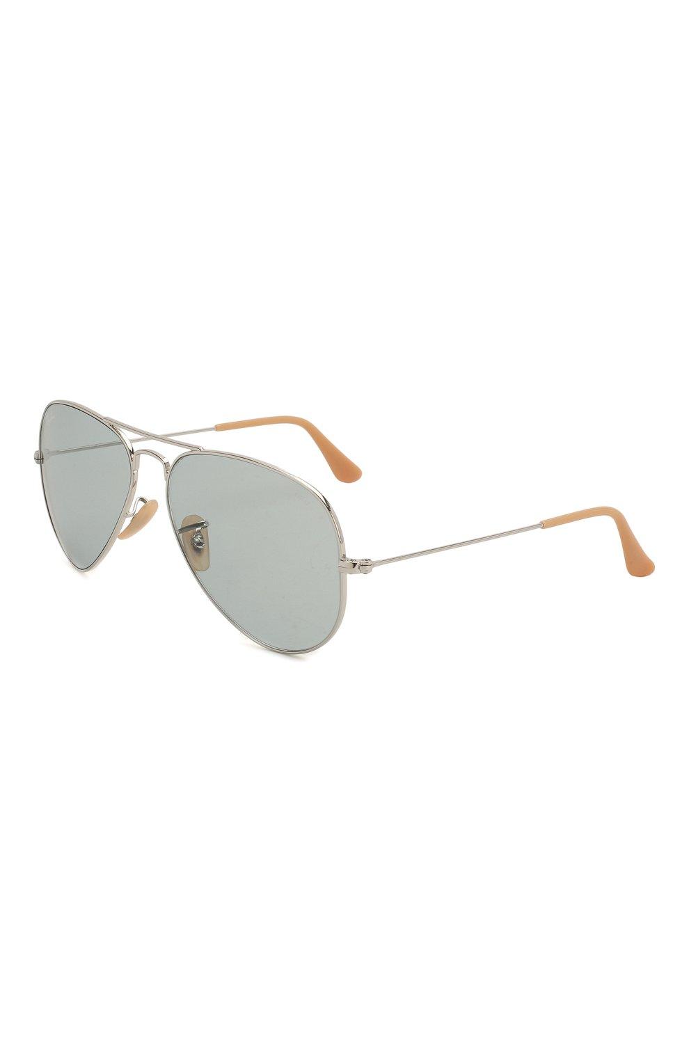 Женские солнцезащитные очки RAY-BAN светло-серого цвета, арт. 3025-9065I5 | Фото 1