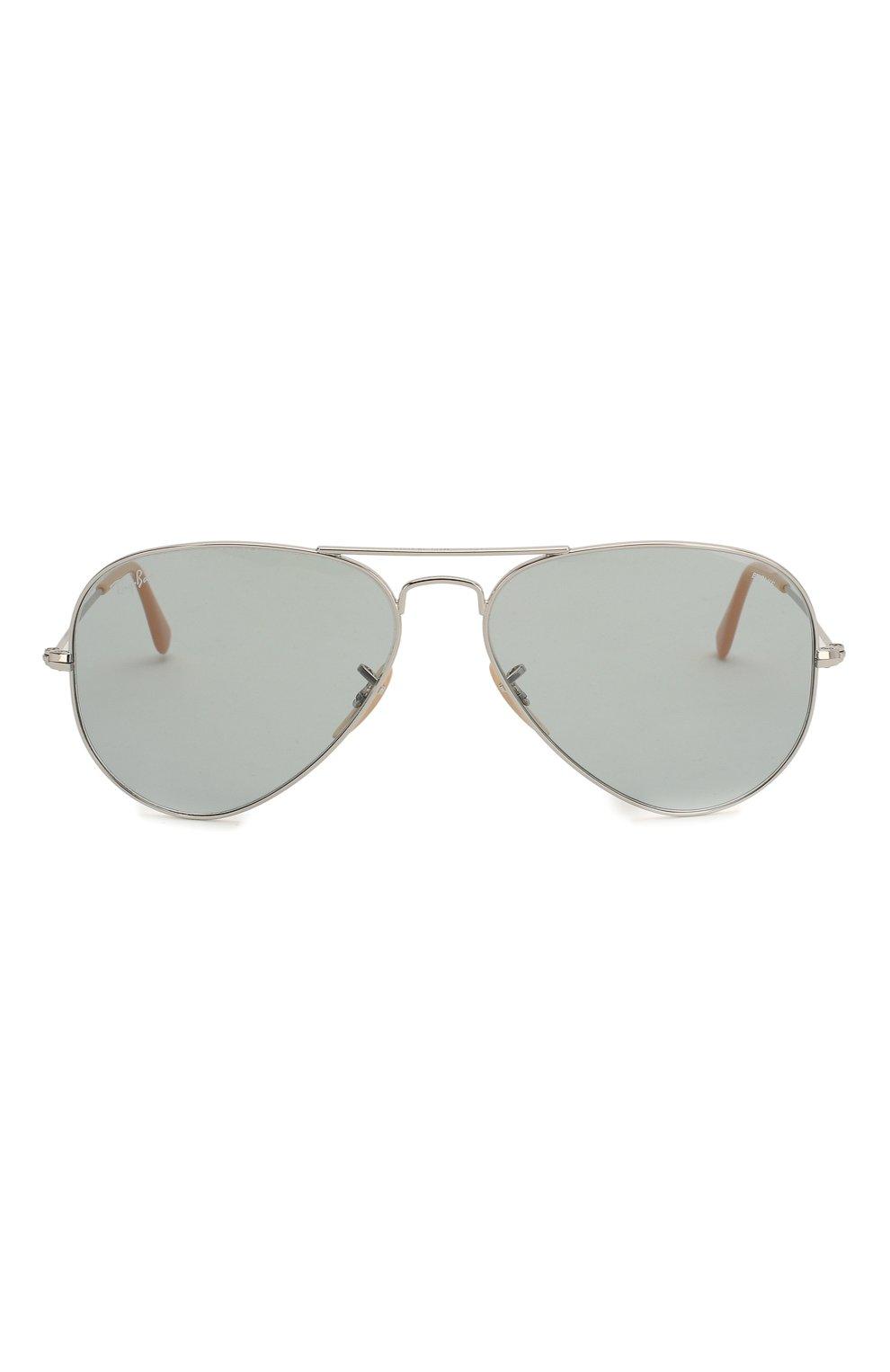 Женские солнцезащитные очки RAY-BAN светло-серого цвета, арт. 3025-9065I5 | Фото 4