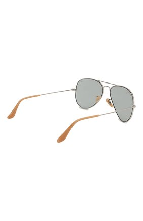 Женские солнцезащитные очки RAY-BAN светло-серого цвета, арт. 3025-9065I5 | Фото 5