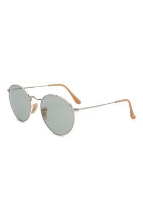 Женские солнцезащитные очки RAY-BAN светло-серого цвета, арт. 3447-9065I5 | Фото 1