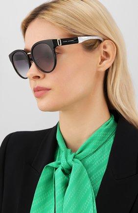Мужские солнцезащитные очки MARC JACOBS (THE) черного цвета, арт. MARC 249/F 807 | Фото 2