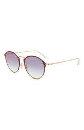 Женские солнцезащитные очки RAY-BAN золотого цвета, арт. 3574N-001/X0 | Фото 1