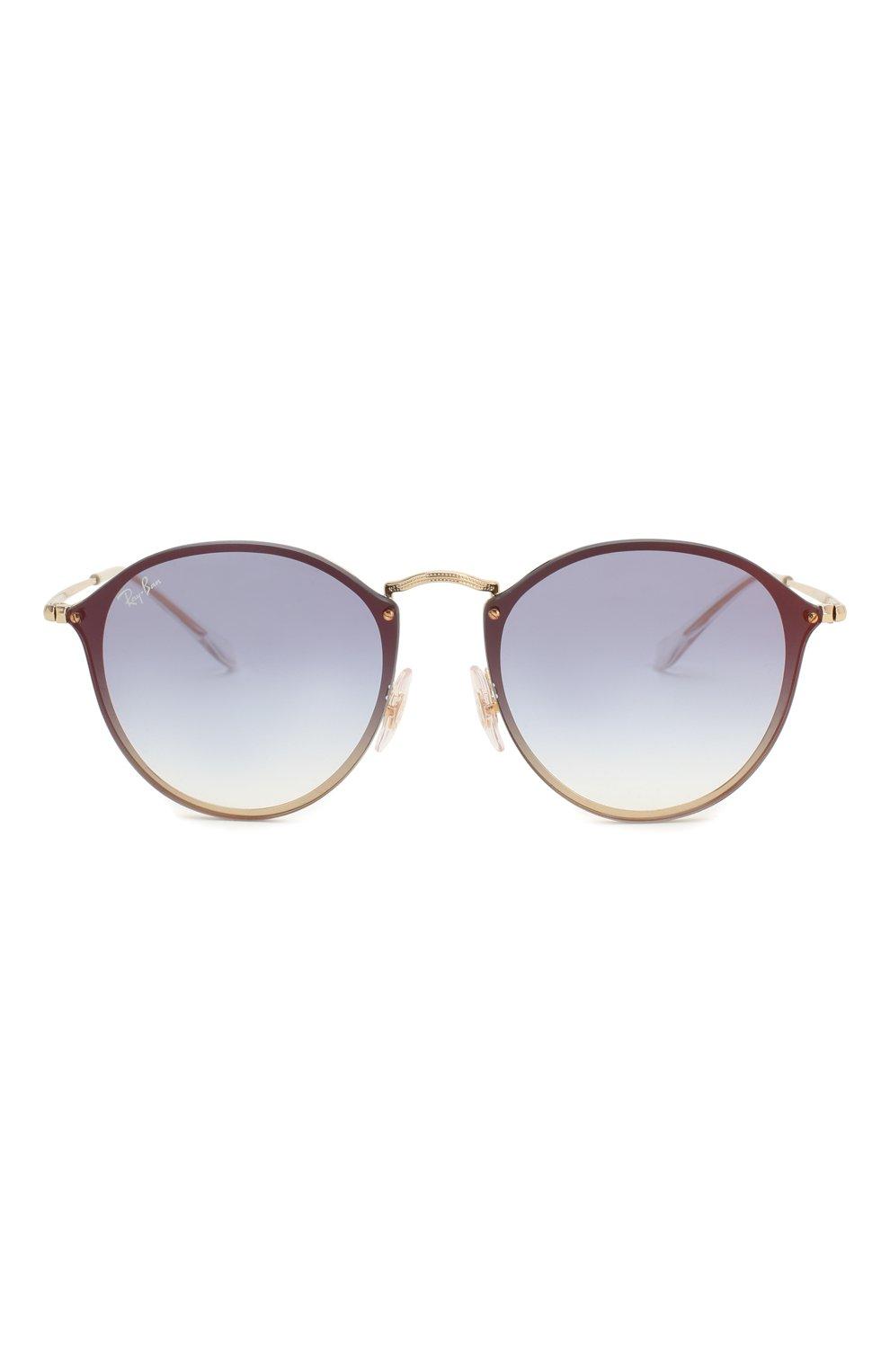 Женские солнцезащитные очки RAY-BAN золотого цвета, арт. 3574N-001/X0 | Фото 3