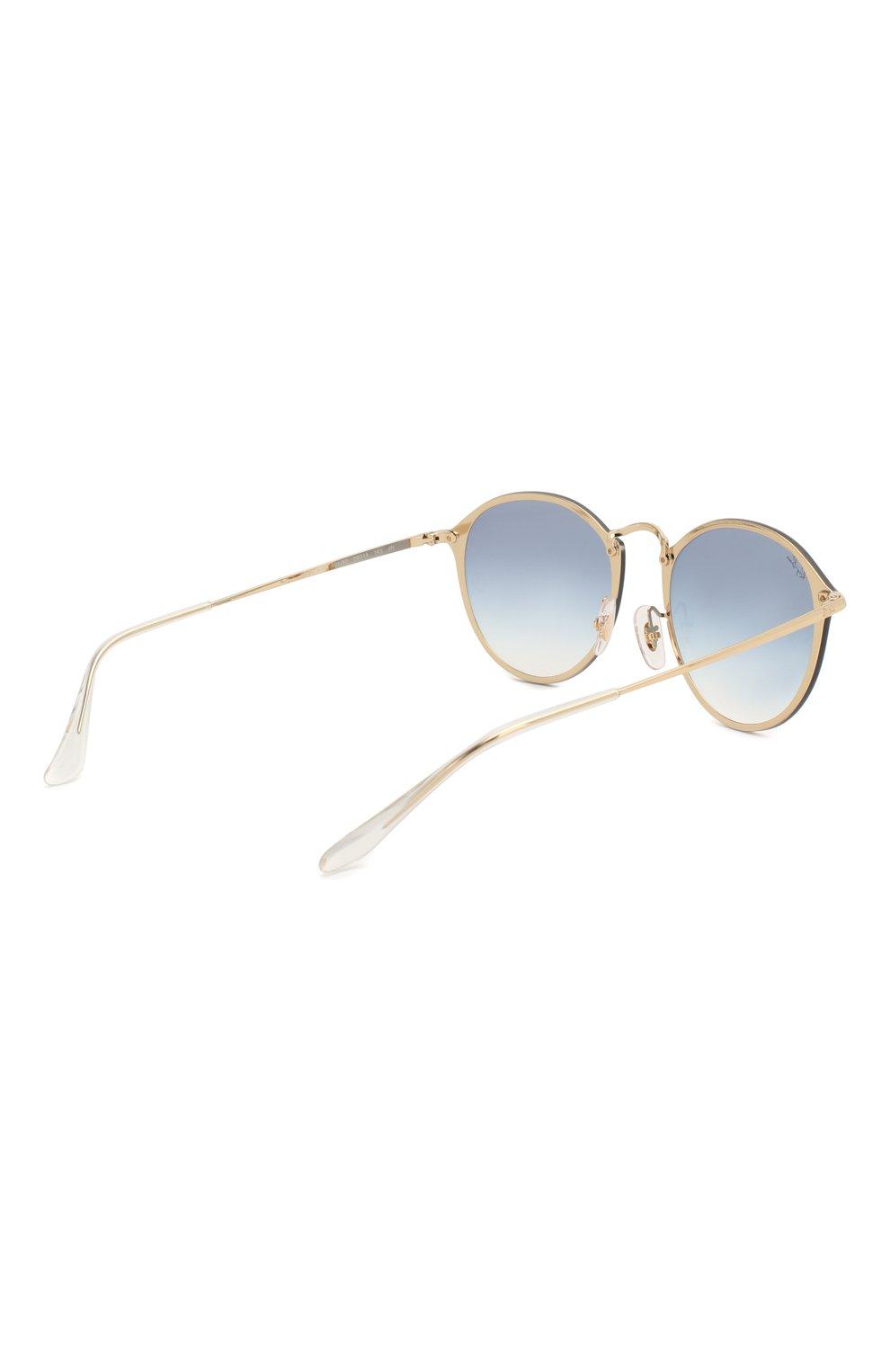 Женские солнцезащитные очки RAY-BAN золотого цвета, арт. 3574N-001/X0 | Фото 4