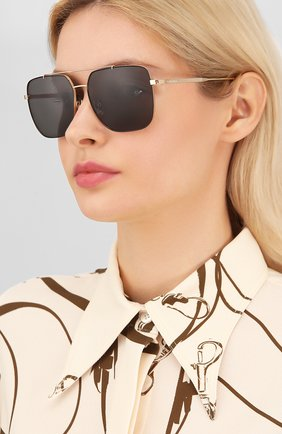 Мужские солнцезащитные очки CHOPARD черного цвета, арт. C97S 300P | Фото 2