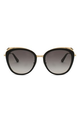 Женские солнцезащитные очки CARTIER черного цвета, арт. CT0150SA 001 | Фото 3