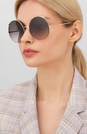 Мужские солнцезащитные очки CARTIER черного цвета, арт. CT0149 001 | Фото 2