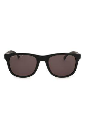 Женские солнцезащитные очки BOSS черного цвета, арт. 1039 807 | Фото 4