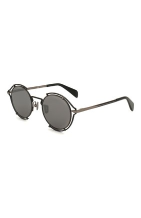Мужские солнцезащитные очки RAG&BONE черного цвета, арт. RNB1024 ANS | Фото 1