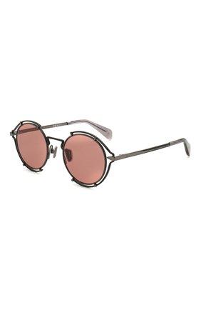 Мужские солнцезащитные очки RAG&BONE розового цвета, арт. RNB1024 V6T | Фото 1