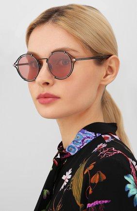 Мужские солнцезащитные очки RAG&BONE розового цвета, арт. RNB1024 V6T | Фото 2
