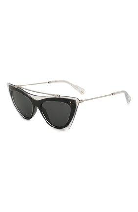Женские солнцезащитные очки VALENTINO черного цвета, арт. 4041-509987 | Фото 1