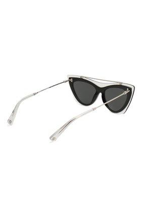 Женские солнцезащитные очки VALENTINO черного цвета, арт. 4041-509987 | Фото 4
