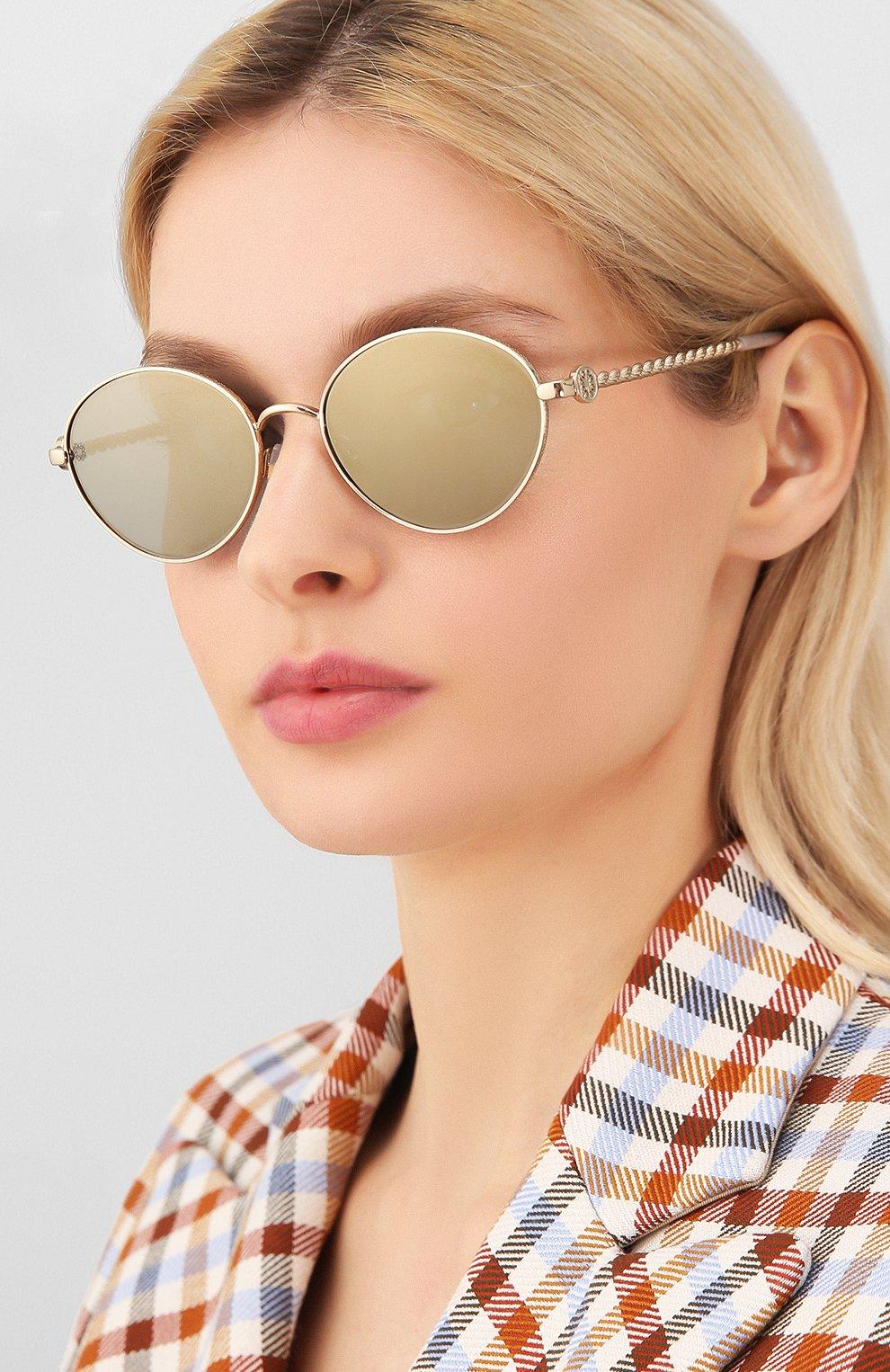 Женские солнцезащитные очки ELIE SAAB серого цвета, арт. 039 J5G | Фото 2