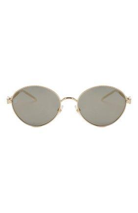Женские солнцезащитные очки ELIE SAAB серого цвета, арт. 039 J5G | Фото 3