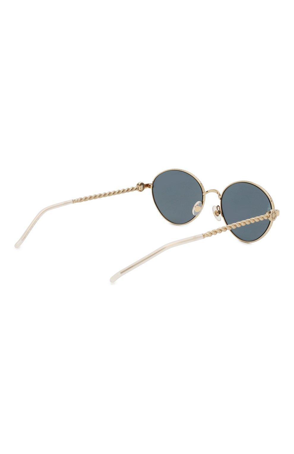 Женские солнцезащитные очки ELIE SAAB серого цвета, арт. 039 J5G | Фото 4