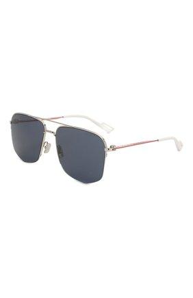 Женские солнцезащитные очки DIOR черного цвета, арт. DI0R180 KWX | Фото 1