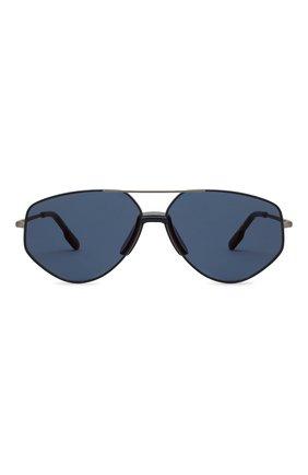 Женские солнцезащитные очки KENZO синего цвета, арт. KZ40014U 13X | Фото 4