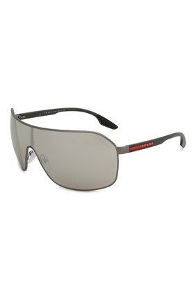 Женские солнцезащитные очки PRADA LINEA ROSSA серого цвета, арт. 53VS-TWW2B0 | Фото 1