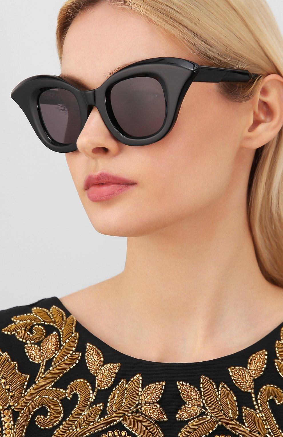 Женские солнцезащитные очки KUB0RAUM черного цвета, арт. B20 BS   Фото 2