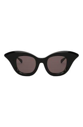 Женские солнцезащитные очки KUB0RAUM черного цвета, арт. B20 BS   Фото 3