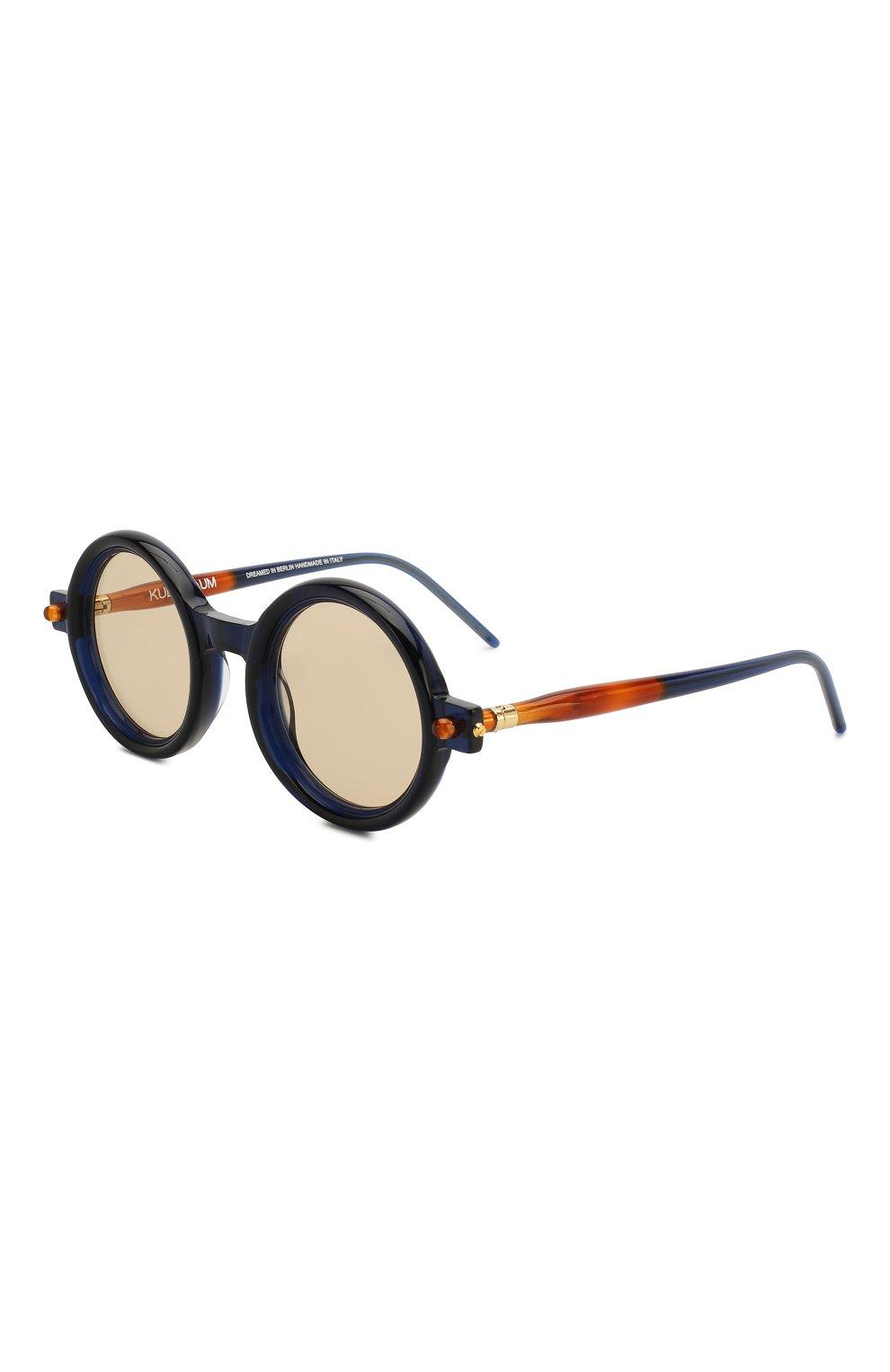 Женские солнцезащитные очки KUB0RAUM темно-синего цвета, арт. P1 BL | Фото 1